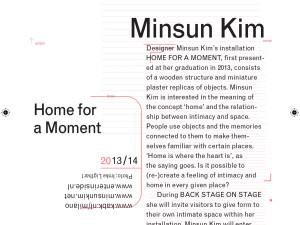 Minsun Kim @ Salone de Mobile Milano