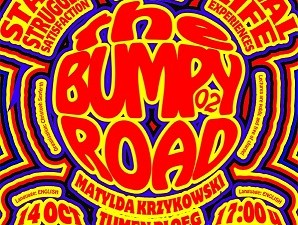 2014-2015 S1 LEZINGEN The Bumpy Road poster 2