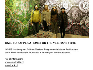 Newsletter Call for Applications 2015