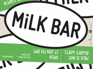 Milkbar, Test Site for Local Business